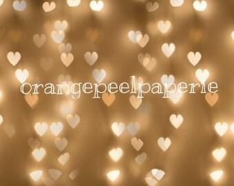 Hearts Photography Bokeh Overlay