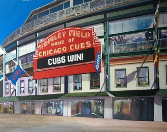 Chicago; Wrigley Field