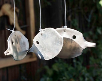 Tropical Fish Silverware Wind Chime TFWC001