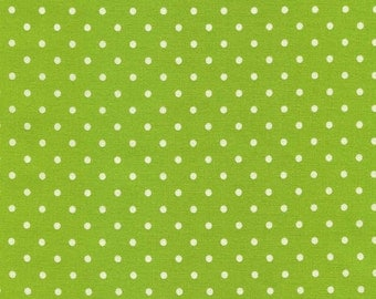 Lime Dot from Timeless Treasures by the yard