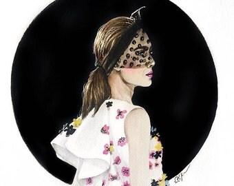 Beautiful Giambattista Valli Illustration