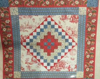 French General TRIP TO PROVENCE quilt pattern