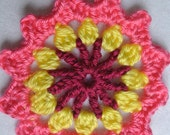 Instant Download, 3 PDF, patterns, tutorial, PDF granny, pdf flower, pdf square pattern, pdf poncho granny, flower granny, crochet flower