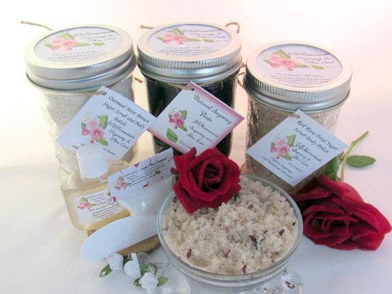Sugaring Paste & Red Rose Sugar Scrub Deluxe Bundle