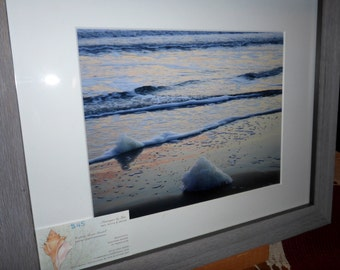 "11""x14"" Matted and Framed Seascape Photo"