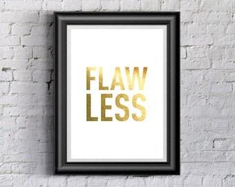 Beyonce Flawless Printable Wall Art