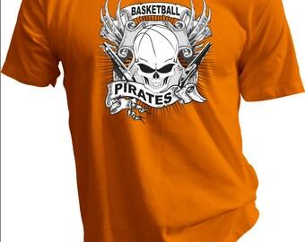Pirates Basketball Tee