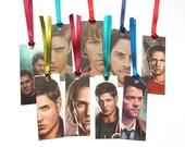 Supernatural bookmarks (Dean, Sam, & Castiel)