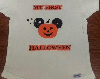 My first Halloween Long Sleeve Onesie