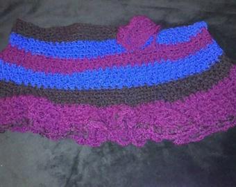 Crochet Peplum Skirt