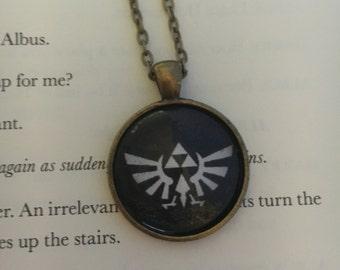 Legend of Zelda Triforce Pendant Necklace Wingcrest