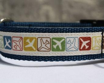 Airplane Dog Collar