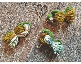 Set of 3 Canaries