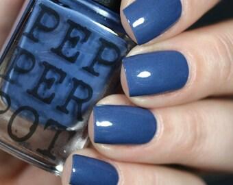 Dark Blue Slate Blue Nail Polish Semester At Sea Bath And Beauty Gift For Her