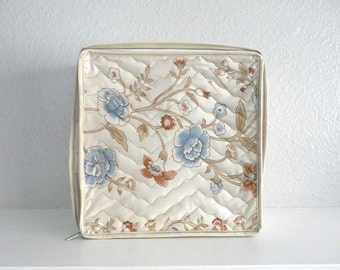 Vintage Quilted China Storage