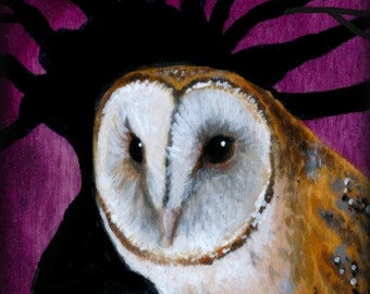 Moorland Owl Limited edition print