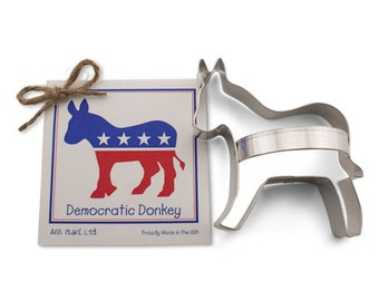 DEMOCRATIC DONKEY Cookie Cutter