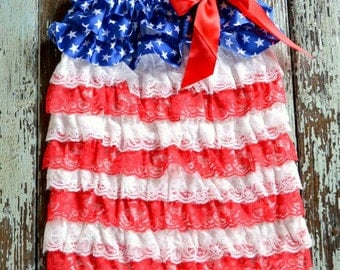 4th Of July Petti Romper