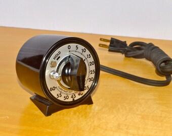 Enlarger timer, Darkroom timer, Interval timer, mechanical Marktime 60 minute timer