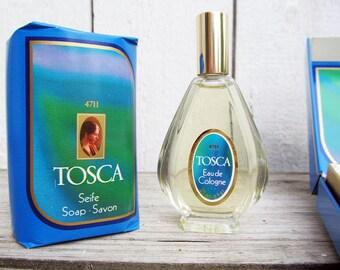 Tosca No. 4711 Perfume and Soap  Eau de  cologne with Original Gift Box