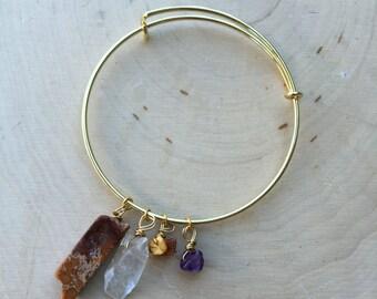 Crystal Bracelet, Jasper Bracelet
