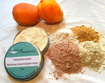 Face Mask Acpricot kisses Buttermilk