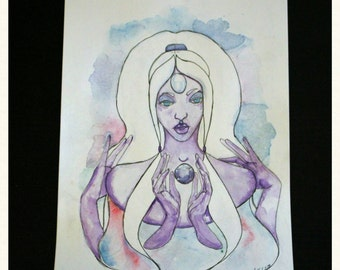 Opal, We Did It Original Watercolor