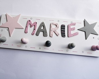 Wardrobe with stars and name