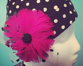 Dance With Me Polka Dot Chemo Hat