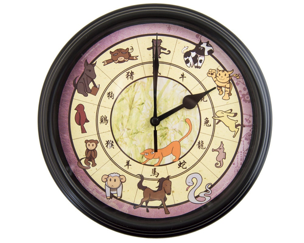 Fruits basket chinese zodiac wall clock anime wall clock zoom amipublicfo Choice Image