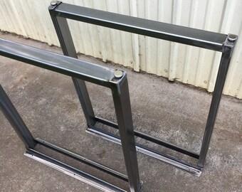 Custom table legs with levelers