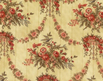 Nell's Flower Shop - Floral Garlands Fabric