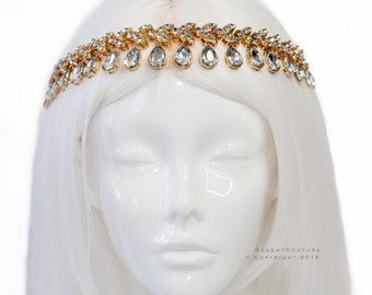 Sultana Gold Headpiece
