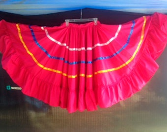 Colorful Folkloric Skirts