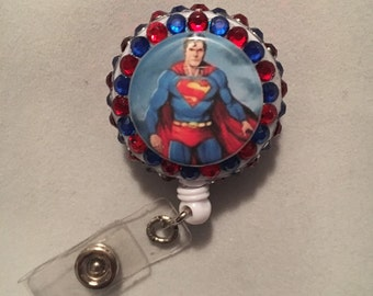 Superman badge reel
