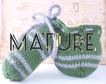 The Snake Woody Hoodie  - willy warmer, penis cozy, cock sock, peter heater MADE TO ORDER Mature