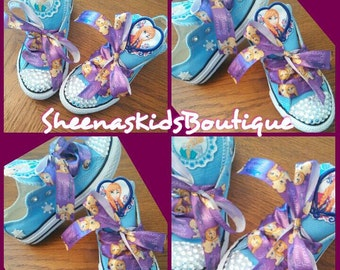 Frozen Princess Converse, All Star, chucks