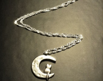 Kitty of the Moon Necklace