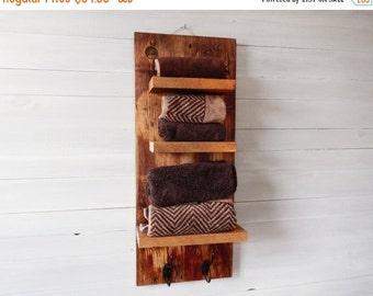 Sale Rustic Shelves For Bathroom- Reclaimed wood shelves- Wood Shelves for Wall- Reclaimed Wood Shelves for Wall- Bathroom Rustic Decor