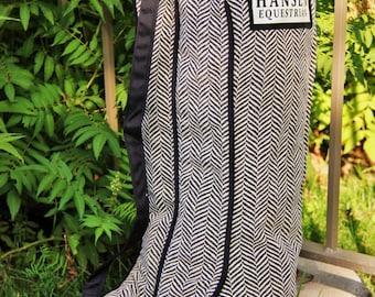 Herringbone Boot Bag
