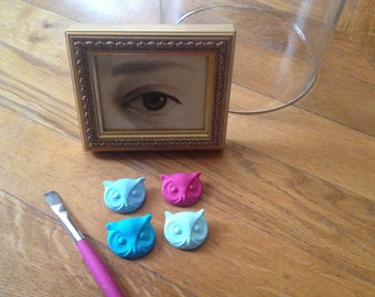 "PIN ""The eye of the OWL"" resin"