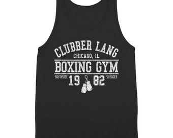 Clubber Lang Boxing Gym Retro Rocky 80S Workout Gym Tank Top DT1451