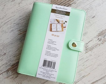 Recollections mint green personal planner