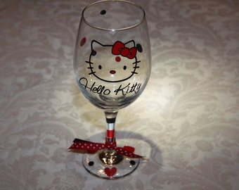 Hello Kitty Glassware