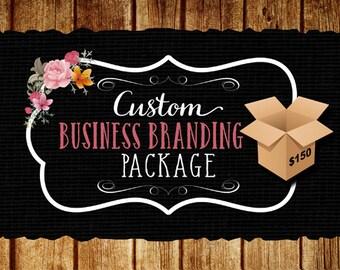 Custom Business Branding Package, Logo Design, Business Card Design, Flyer Design, Matching Banner, 3 Vector File Formats for Printing