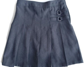 Flash Sale 90s Pleated Grunge High Waist Schoolgirl Skirt