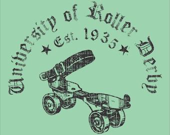 Roller Derby T-shirt - University Of Derby
