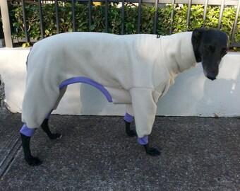 Greyhound pyjamas by Snug Hounds