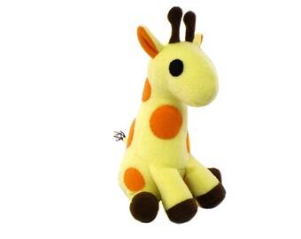 Giraffe Plush Pattern, Toy Giraffe Sewing, Animal Pattern, Stuffed Giraffe Pattern, Toy Pattern Sewing, Stuffed Animal Sewing, DIY Giraffe