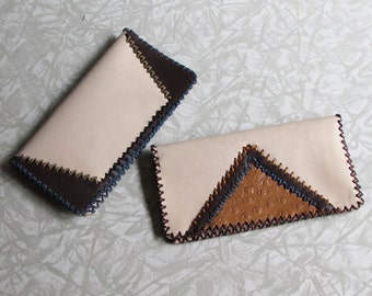 Patchwork Checkbook Covers